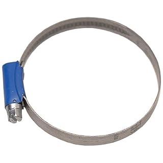 Aparoli 841506 Original ABA - Schlauchschelle, 40-60 mm, Schneckengewinde, Bandbreite 9 mm, VE: 10 Stück, blau