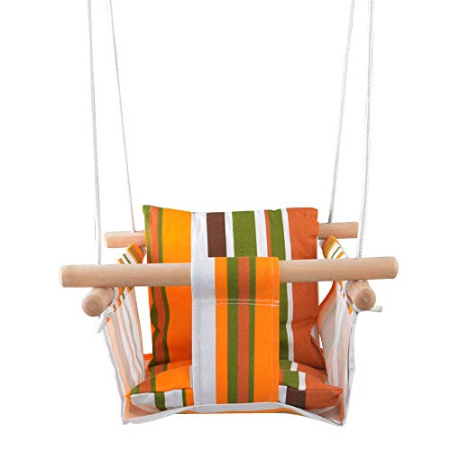 happypie Kinder sichere hängende Schaukel Sitz Indoor und Outdoor hängendes Spielzeug (freie kombination)