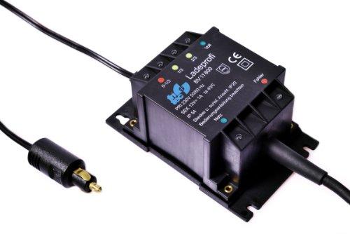 fritec Ladeprofi kompakt für 12V Kfz- & Motorrad-Batterien - mikroprozessorgesteuertes Lade- und Ladeerhaltungsgerät