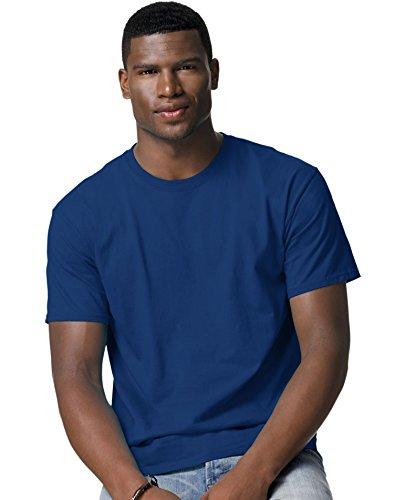 ecosmart-comfortblend-hanes-maglietta-a-girocollo-da-uomo-blu-royal-large