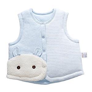 Banner Bonnie bebé algodón cálido Chalecos de Unisex Infantil para luz Acolchado Chaleco 6