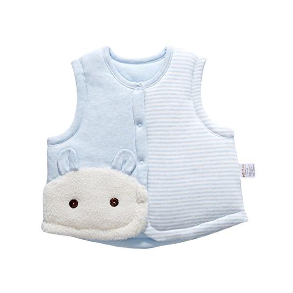 Banner Bonnie bebé algodón cálido Chalecos de Unisex Infantil para luz Acolchado Chaleco 1