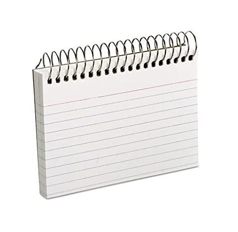 Oxford Spiral Index Cards, 3 x 5, 50 Cards, White by Oxford?