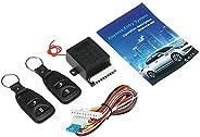 طقم أساسي للسيارات 12 فولت من Decdeal نظام دخول بدون مفتاح مع 2 جهاز تحكم عن بعد