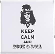 Comprar CORTINADECOR - Estor enrollable juvenil keep calm and rock and roll