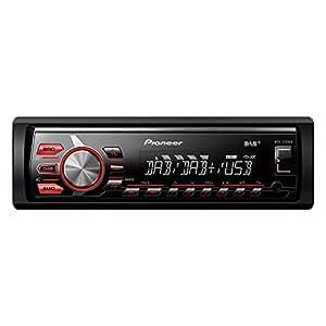 Pioneer MVH-270DAB Autoradio (DAB+ Tuner, USB, Aux-Eingang, unterstützt Apple iPod/iPhone Direktsteuerung) schwarz
