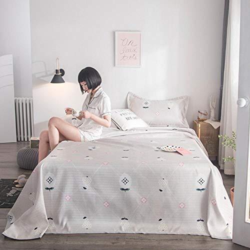 Reis-bett-möbel (HUILIN waschbar Maschine Sommer kühlen Eisseide Sitz dreiteiliges Set 1,5 m Jacquard Klimaanlage Matte 1,8 m Bett Klappkissen, Fruchthonig Sprache - Reis Asche, 1,8 Bett 250 * 250 cm dreiteilig)