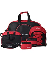 Skylarks Multi Purpose Heavy Quality Non-tearable Travel & Carrying Bags (Combo Of 6)