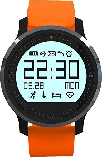 F68impermeabile Smart Watch, Rasse? IP67impermeabile touch screen Sport Smartwatch supporto chiamata promemoria pedometro monitoraggio sonno, sedentari ricordare ecc. per Andirod e iPhone, colore: arancione