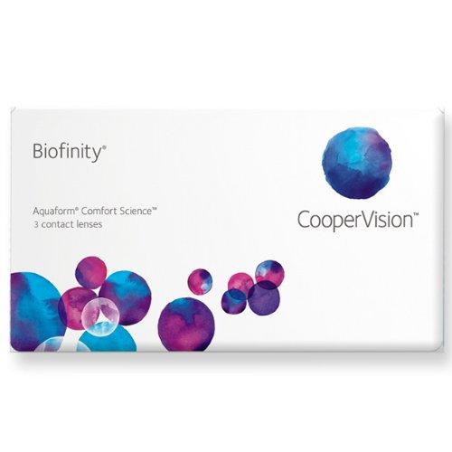Biofinity Toric, torische Monatslinsen weich, 3 Stück / BC 8.7 mm / DIA 14.5 / CYL -0,75 / Achse 180 / -01,75 Dioptrien