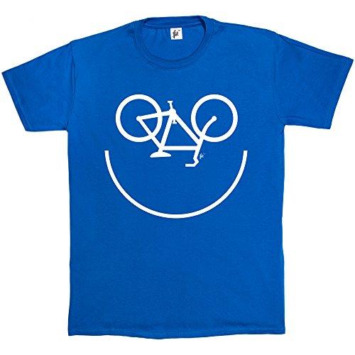 Fancy A Snuggle -  T-shirt - Collo a U  - Maniche corte  - Uomo Blu