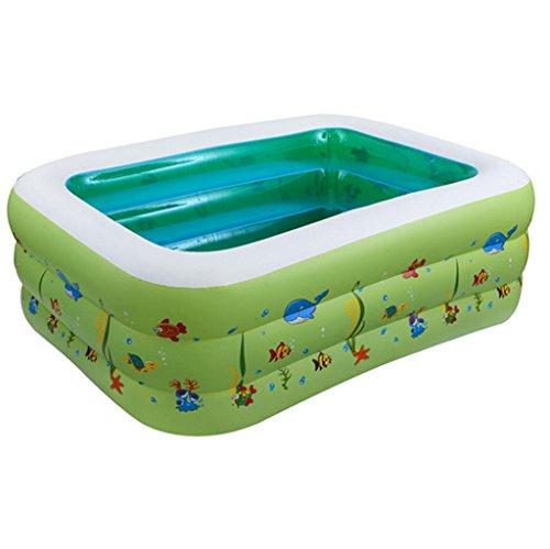 Mustbe strong Kinder Baby Pool aufblasbaren Pool aufblasbare Umweltschutz PVC Blase Unten Schwimmbad , 130for Outdoor