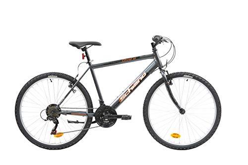 F.lli Schiano Ghost, Bici MTB Uomo, Antracite-Arancio, 26''