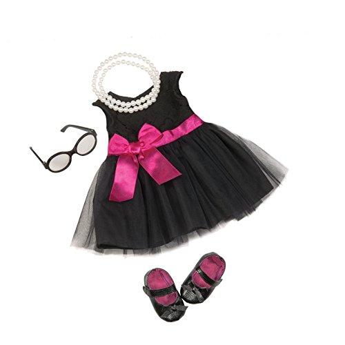 Our Generation BD60003Z - OG - Cocktail-Kleid mit Perlenkette Outfit -