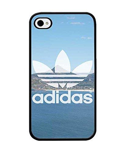 Cool Iphone 4 / 4s Custodia Case, Brand Logo Adidas Unique Pattern Tough Rugged Custodia Case Color-007