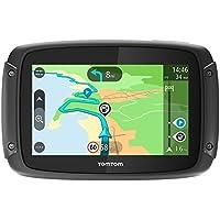 """Tomtom Rider 420 Portátil/Fijo 4.3"""" Pantalla Táctil 280g Negro navegador - Navegador GPS (Toda Europa, Rusia, 10,9 cm (4.3""""), 480 x 272 Pixeles, Flash, MicroSD (TransFlash), 16 GB)- Version importada"""