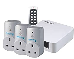 Energenie Alexa-compatible Hub & Smart Plugs 3-pack