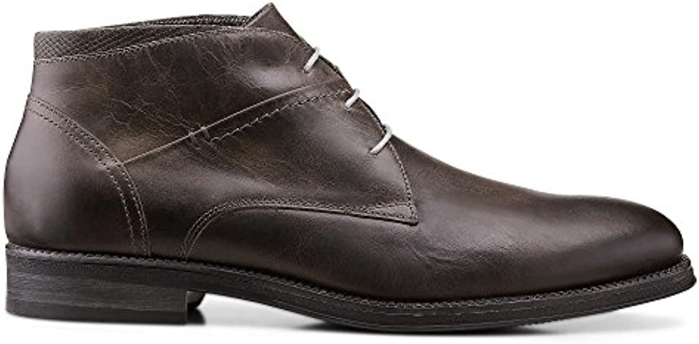 DRIEVHOLT Herren Freizeit StiefeletteDRIEVHOLT Herren Freizeit Stiefelette Grau Leder Billig und erschwinglich Im Verkauf