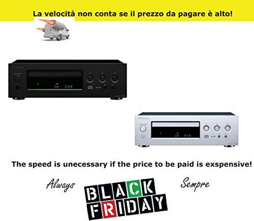 Onkyo C 755Compact Disc Player Reproductor CD Mini Audiophile, DAC AKM 192KHz/24bit, Ciruito vlsc