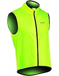 NORTHWAVE Chaleco ciclismo hombre VORTEX amarillo fluorescente