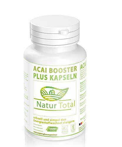 Acai Booster Plus leichter abnehmen - schnell simpel energiestoffwechsel steigern - abnehmen - Fatburner - Appetitzügler Garantiert Glutenfrei (180)