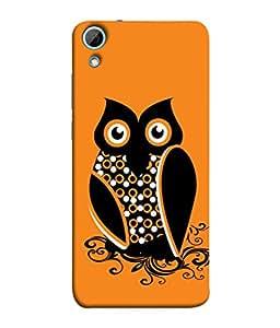 Fuson Designer Back Case Cover for HTC Desire 830 :: HTC Desire 830 Dual Sim (Jungle ka raja Sher Tiger )