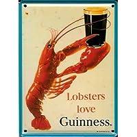 Guinness Irlandese Love a moschettone in metallo,