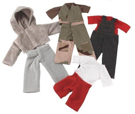 Fair Trade Boy Rag Dolls Clothes Set ()
