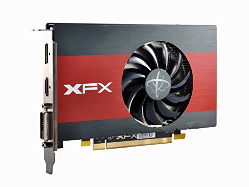 XFX AMD Radeon Grafikkarte PCI Express 3.0/3.1 Metallic, Red RX 460