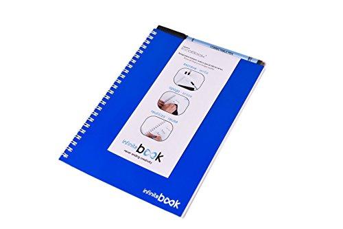 infinitebook-by-ecobook-wiederverwendbares-heft-grosse-a5-wesse-iblater-mit-filzstift-farben-blau