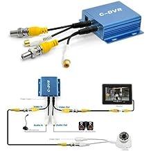 Pa Shop Mini enregistreur DVR IN et OUT audio vidéo 1 canal - enregistrement de caméra sur carte TF/microSD