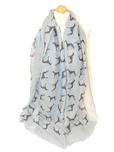 greyhound-dog-large-soft-cotton-wrap-scarf-choice-of-4-colours-frayed-edging-sky-blue
