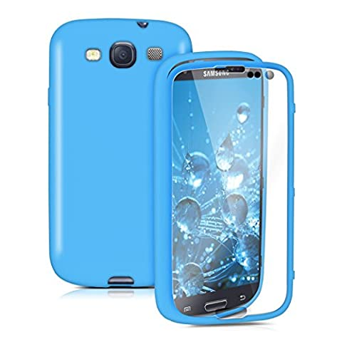 kwmobile TPU Silikon Hülle für Samsung Galaxy S3 / S3 Neo - Full Body Protector (Robusto Silicone)