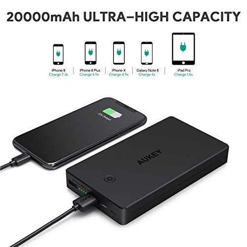 Zoom IMG-2 aukey powerbank 20000mah caricabatterie portatile