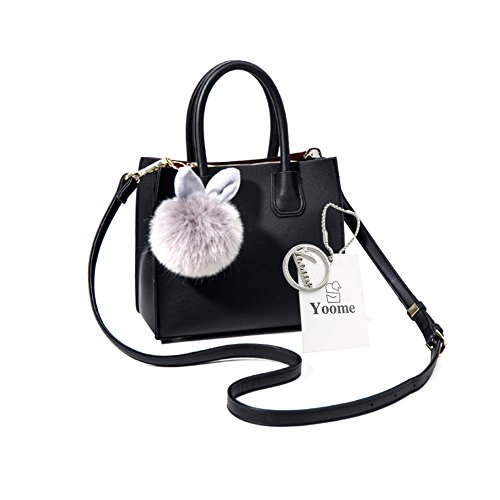 Suche Kostüme Stadt Party (Yoome Medium Crossbody Handtaschen Für Frauen Top Handle Tote Brieftaschen Make-up Beutel Tasche Beiläufige Taschen -)