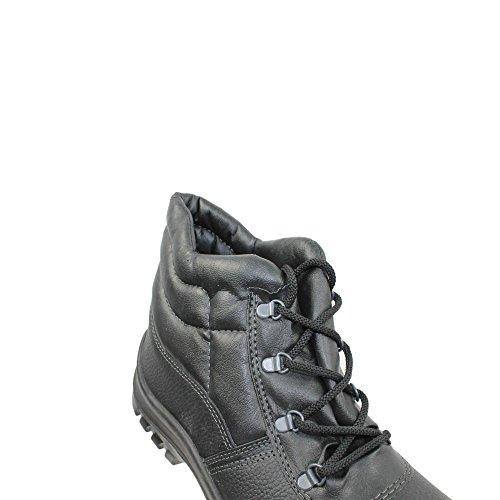 TuF UK S1P SRC Sicherheitsschuhe Arbeitsschuhe Trekkingschuhe hoch Schwarz Schwarz