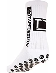 CHAUSSETTE TAPEDESIGN ANTIDERAPANT BLANC - taille : 39-46