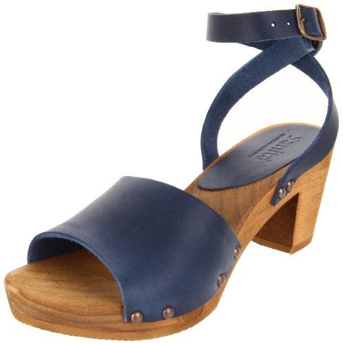 Sanita Wood-Yara Flex Sandal 457357-14, Sandales femme Bleu (Blue 5)