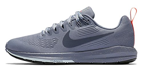 Nike Damen Air Zoom Structure 21 Shield, Zapatillas de Entrenamiento para Mujer, Multicolor (Dark Sky Blue/Thunder Blue-Thu), 42 EU