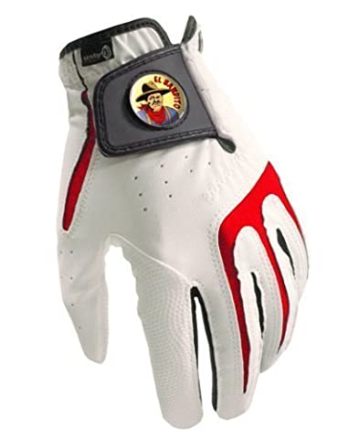 Tous Temps Gant De Golf S1 Collection El Bandito + Marqueur De Balle Sherpashaw Gratuit - XL