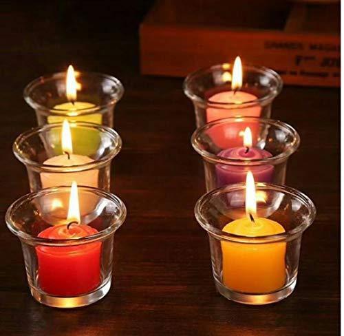 en Duft Kerzen rauchlose Kerzen Großhandel romantische weiße Kerzen ()
