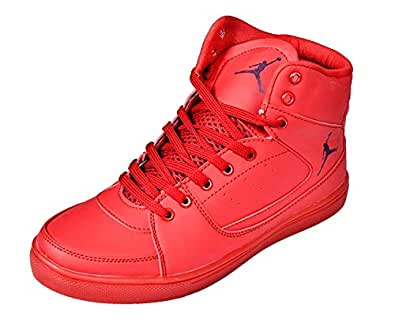 Ashoka Boys Red Casual Shoe
