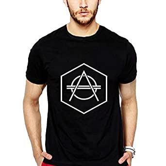 iLyk Men's Don Diablo Printed T-Shirt (11164_Black_Small)