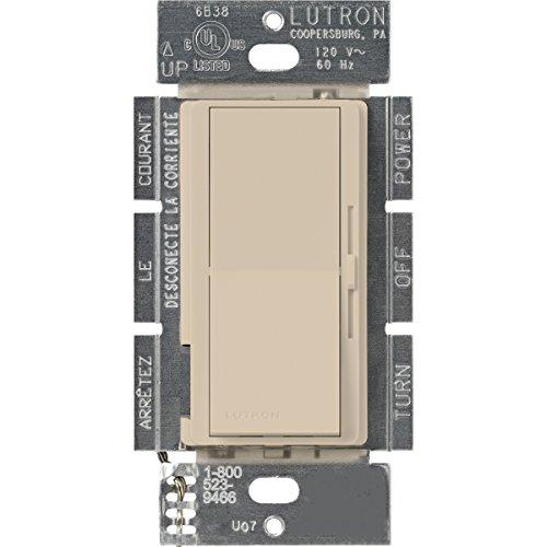 Lutron Diva 1,5A 3Wege/Single Pole 3Geschwindigkeiten von Kontrolle des Lüfter taupe