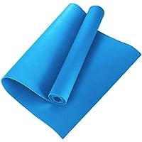 HEREB Colchoneta Fitness Esterilla 4mm Yoga Antideslizante Alfombrilla de EVA Yoga Esterilla Pilates Esterilla Deporte Colchoneta para Gimnasio Espesor, Pilates Yoga Ejercicios para el Piso
