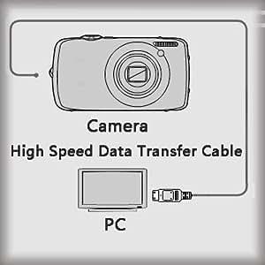 USB Data Transfer Cable For Panasonic DMC-FS11 DMC-FS12 DMC-FS14 DMC-FS15 DMC-FS16 Digital Photo Camera , Camcorders