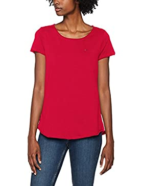 Tommy_Jeans Tjw Soft Jersey tee, Camiseta para Mujer