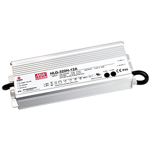 Fuente de alimentación LED 320W 24V 13,34a; MeanWell HLG de 320h at-24a; Fuente de alimentación conmutada