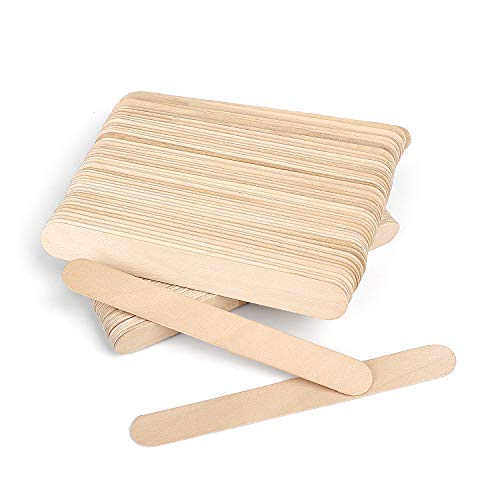 Wicket Holz-Pflanzenetiketten für Pflanzen, 15,2 cm, 100 Stück