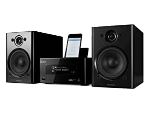 Denon Ceol Piccolo Network Music System with Wi-Fi, DLNA,Airplay and Speakers - Black (discontinued by manufacturer)